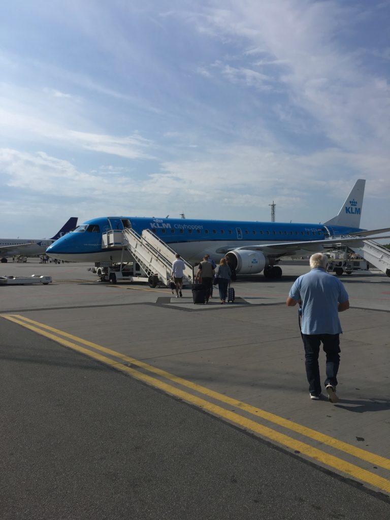 Aalborg Airport KLM