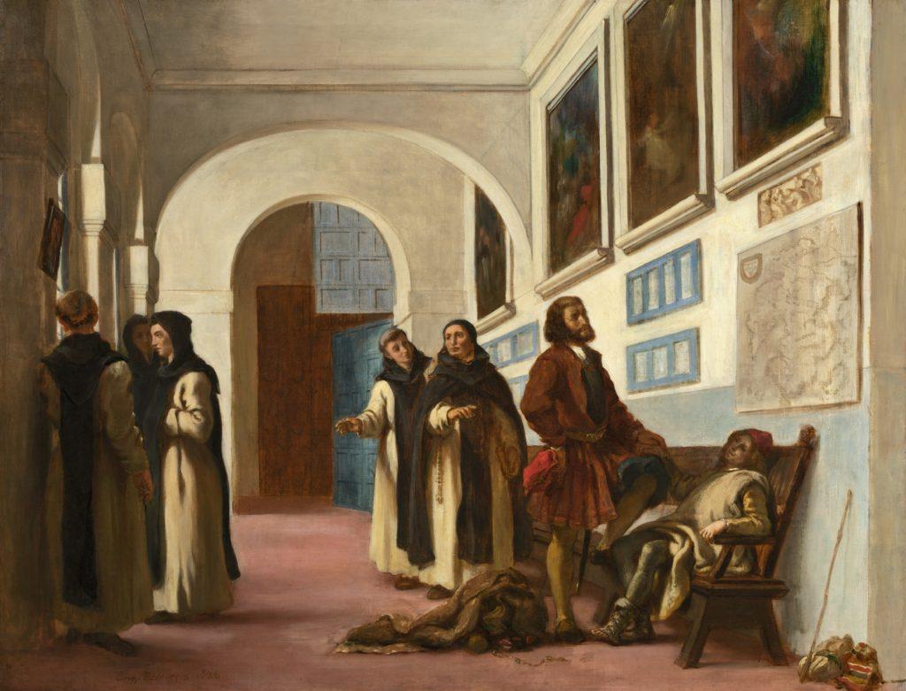 Columbus at La Rábida