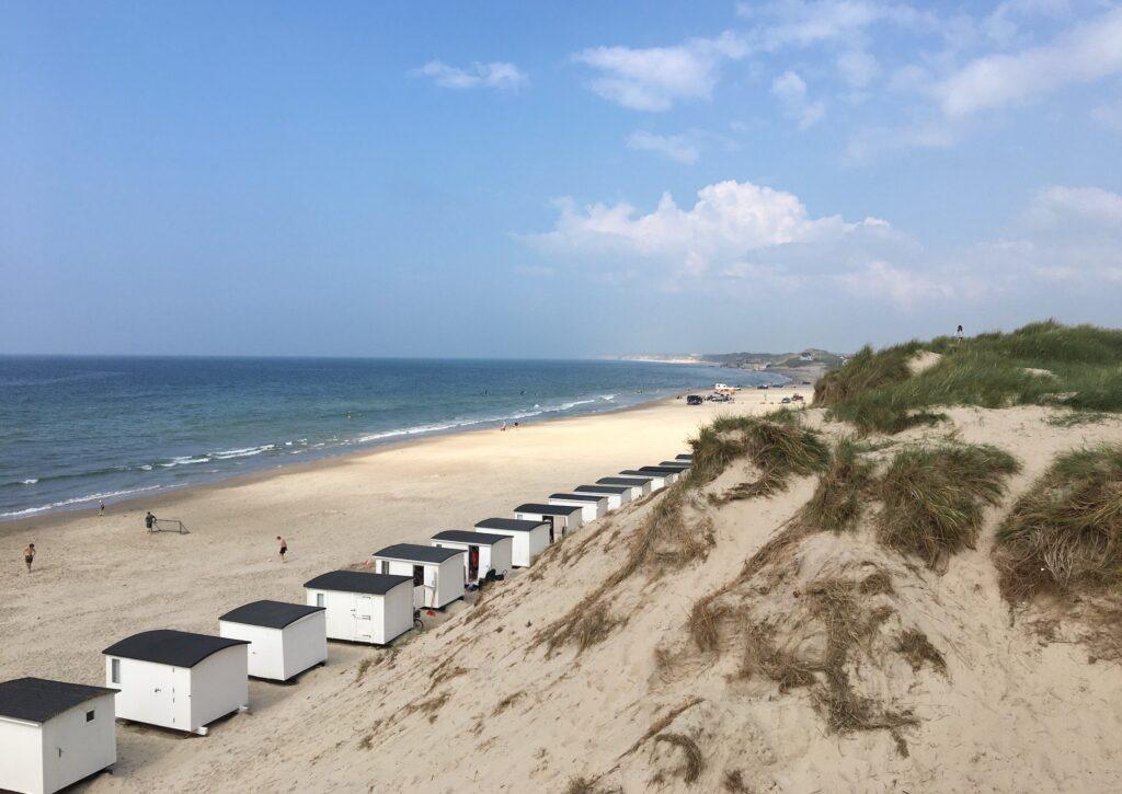 Løkken white beach houses