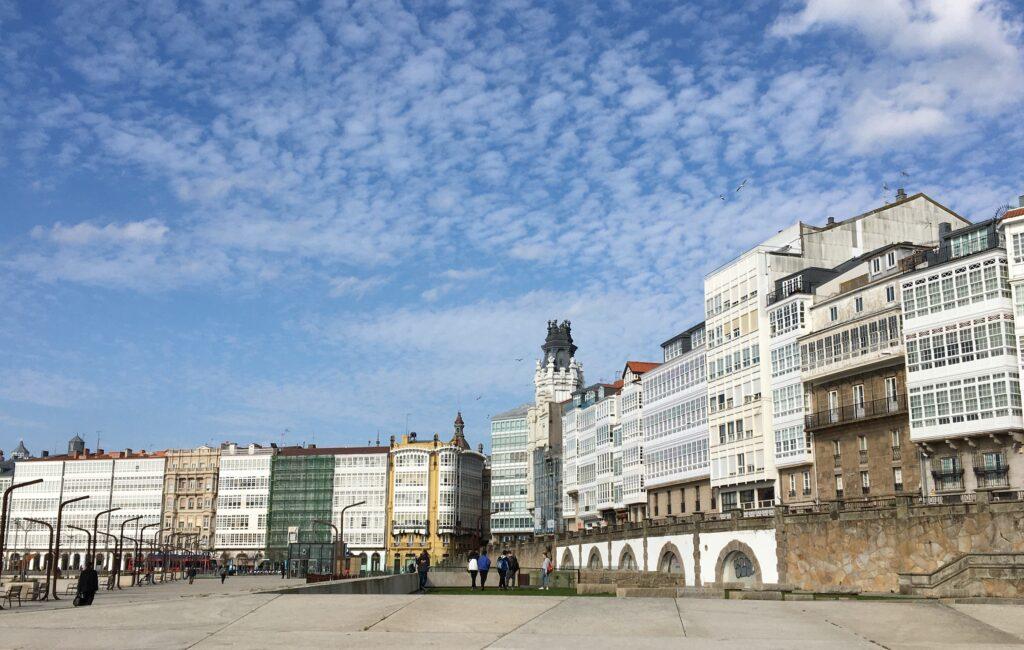 A Coruña architecture