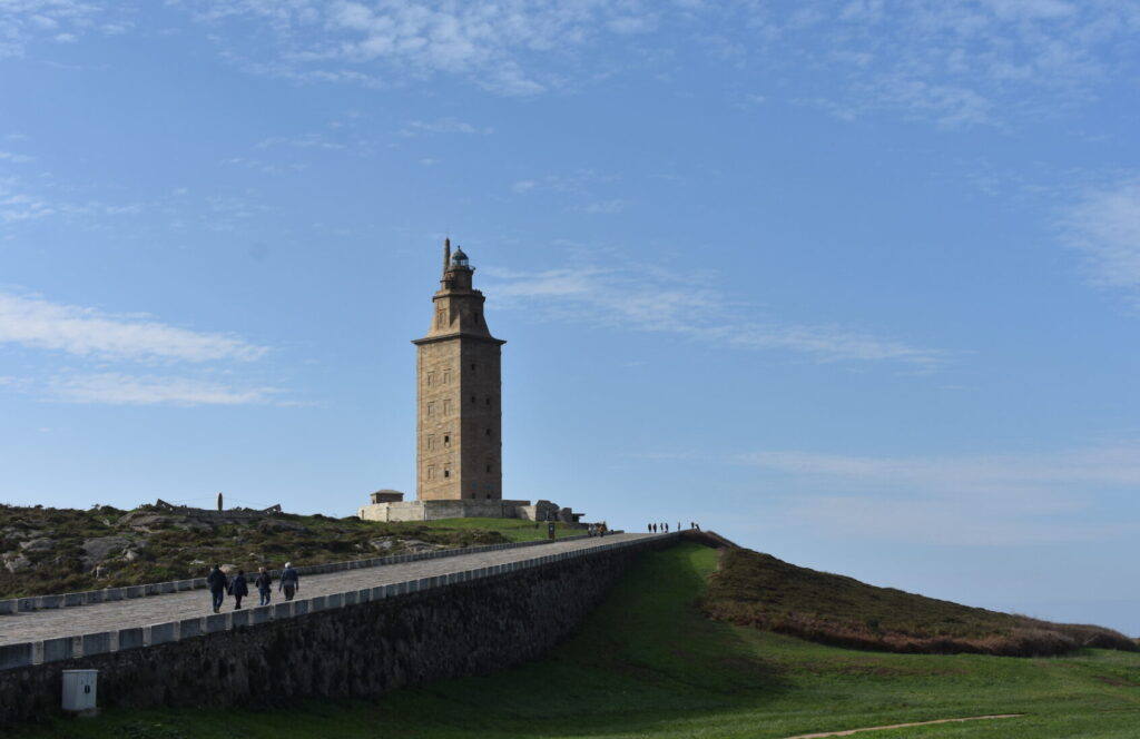 Sights and attractions in A Coruña