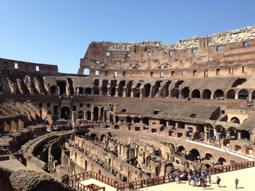 The Colosseum is one of the top sights in Rome