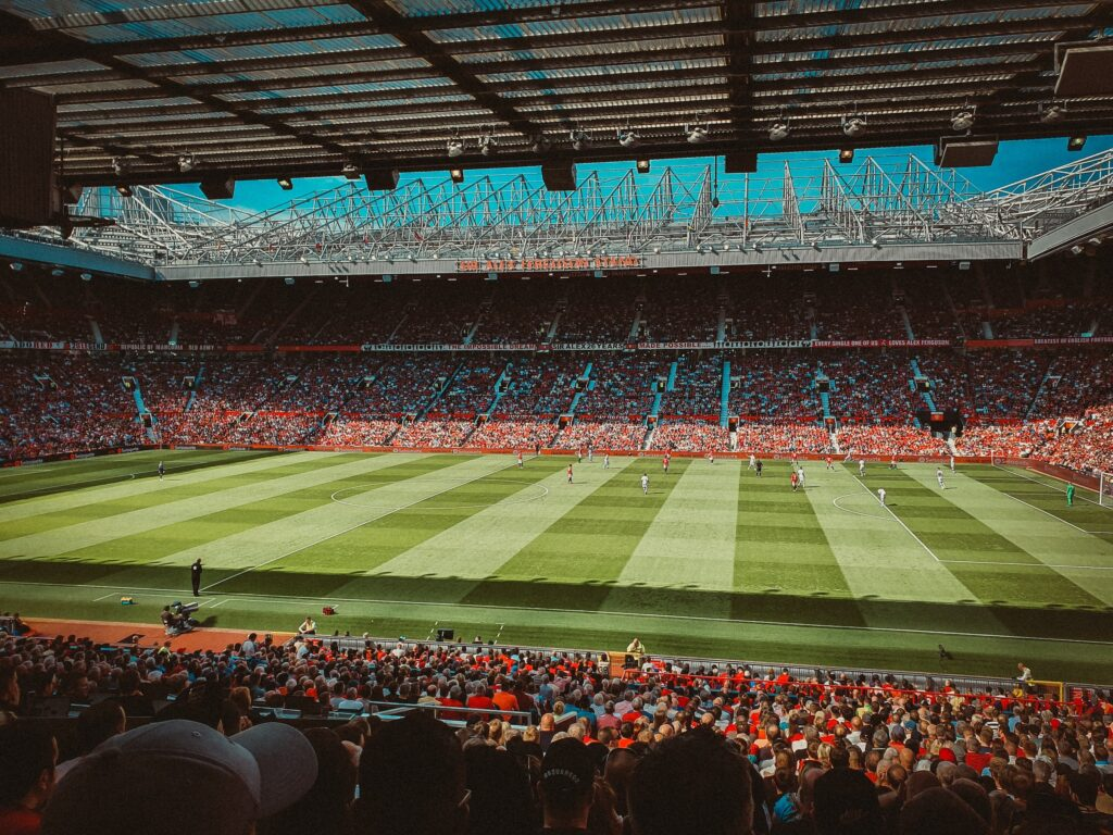 A football trip to Old Trafford in Manchester