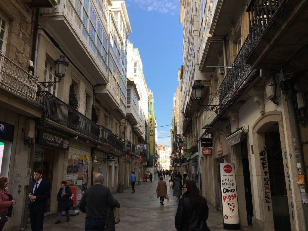 Shopping in A Coruña