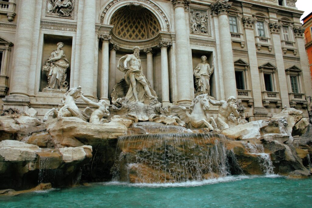 Trevi Fountain is a free attraction in Rome