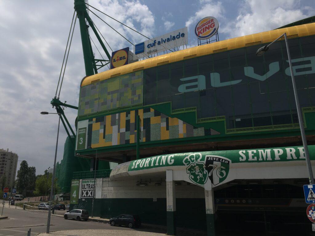 Visiting Estádio José Alvalade
