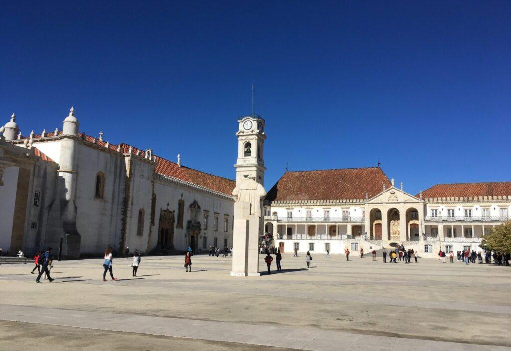 Visiting Coimbra University