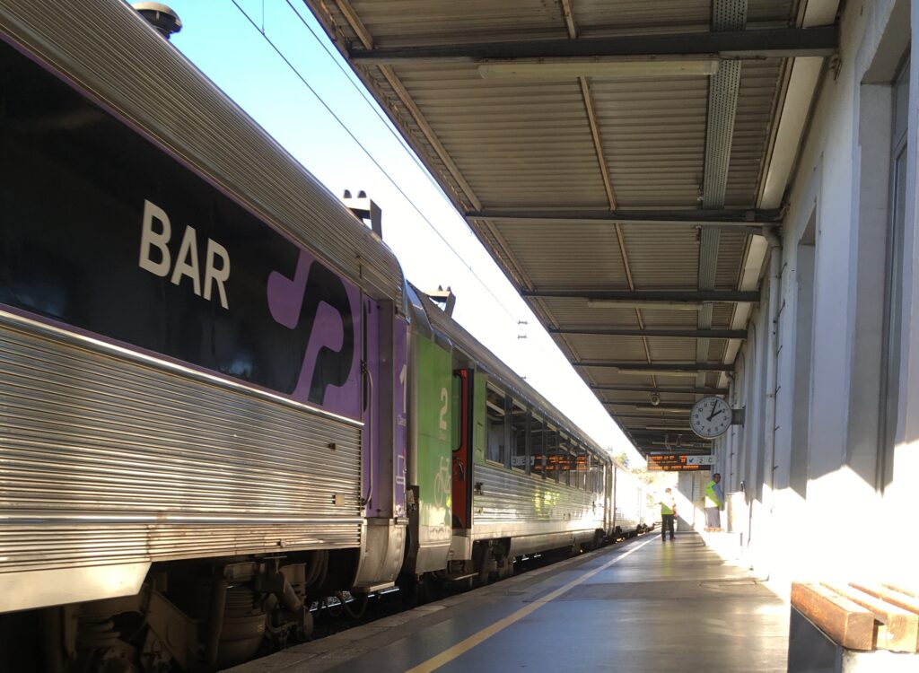 From Lisbon to Coimbra by train