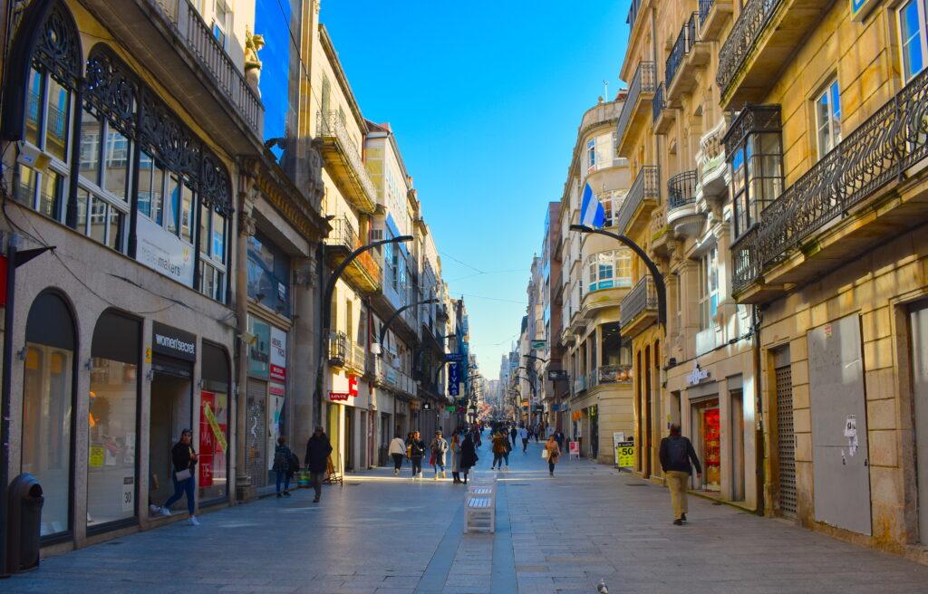 Shopping in Vigo