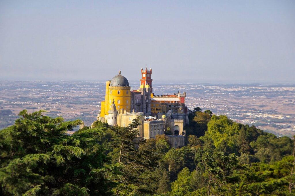 The Pena Palace is one of the top attractions in Sintra